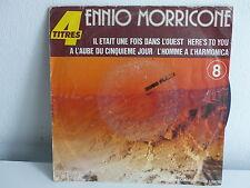 BO Film OST ENNIO MORRICONE Il était une fois dans l ouest 4 titres pb61208