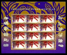 2013 - YEAR OF THE SNAKE - #4726 Full Mint -MNH- Sheet of 12 Postage Stamps