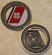 Team Coast Guard Coasties To The Rescue Challenge Coin   St