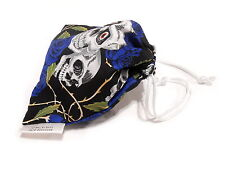 Skull Dice Bag Bolt Action Wahammer Fantasy/40K D&D Gates of Antares Skull Rose