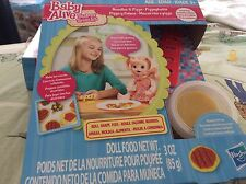 Baby Alive dolls food super snacks WITH shapers-genuine hasbro