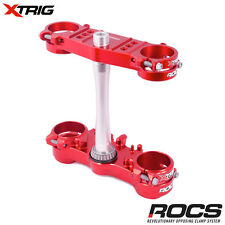 New Xtrig Rocs Tech Triple Clamp Set CRF 450 R 2017 17 OS 22mm M12 CRF450