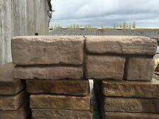 WETHERDALE OLD TOWN WALLING BLOCKS  450x140x145mm .£2.95 ea.2 sided .CHOC 05733