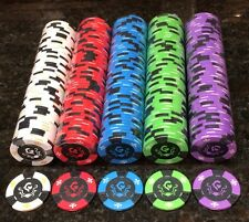 RARE New Regal Knight 11.5 Gram Clay Composite Poker Chips ( 500 Chips ) *NICE*