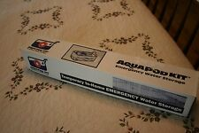 Aqua Pod 65 Gallon Emergency Water Supply Storage Survival Kit with Pump