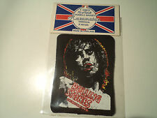 vintage ROLLING STONES 80s UNUSED PATCH MICK JAGGER no lp cd shirt aufnaher rock