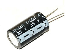 2 pcs Electrolytic Capacitors 4700uF 35V New Radial