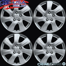 "4 NEW OEM SILVER 17"" HUB CAPS FITS HYUNDAI SUV CAR ABS CENTER WHEEL COVERS SET"