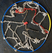 BRAND NEW 16MM SNOW CHAINS TO FIT 700-20 TYRES FOR COMMERCIALS & MOTORHOMES