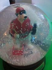 Tim Wolfe CHIEF Coca-Cola bear Nascar SNOWGLOBE NOS 2005 First Ed. #383