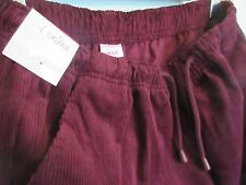 """CHUMS WOMEN'S CORDUORY TROUSERS, SIZE 14 INSIDE LEG 27"""" ELASTICATED NEW"""