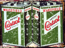 CASTROL MOTOR OIL METAL SIGN 8x10in pub bar shop cafe games room garage