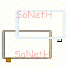 "Vetro Touch screen Digitizer 10,1"" Mediacom SmartPad S2 M-MP1051S2 Bianco"