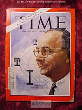 TIME September 8 1967 Sept 9/8/67 HAROLD GENEEN ITT CONGLOMERATES