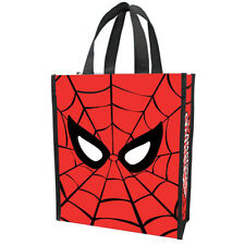 Marvel Spiderman Small Recycled Shopper Tote NEW Toys Carrier X-Men