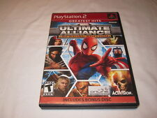 Marvel Ultimate Alliance: Special Edition (Playstation PS2) GH Game Complete Exc
