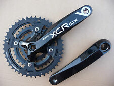 SR Suntour XCR6-T424 Chainset Bicycle Crank 170mm Black Bike MTB NEW Chainwheel