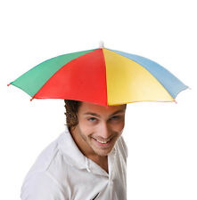 Umbrella Hat Cap Head Outdoor Novelty Fun Fishing Hiking Camping Foldable Brolly