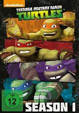 TEENAGE MUTANT NINJA TURTLES: COMPLETE SEASON 1  4 DVD NEU