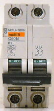 New Schneider Electric Merlin-Gerin Multi-9, 2A Miniature Circuit Breaker, 24072