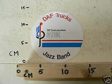 STICKER,DECAL DAF TRUCKS DTJB JAZZ BAND