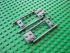 Lego Horse HITCH -Dark Bluish Gray- Lot of 2 PCS Thill part #2397 Castle Cart
