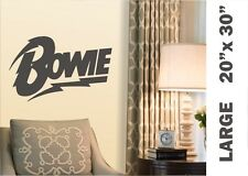 David Bowie Lightning Vinyl Decal  WALL Sticker Anonymous #DavidBowie