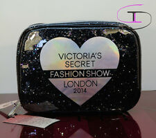 NWT VICTORIA'S SECRET FASHION SHOW TRAVEL COSMETIC BAG MAKEUP BAG  VS 1158B