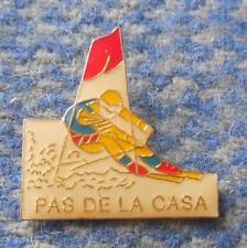 ALPINE SKI PAS DE LA CASA PIN BADGE