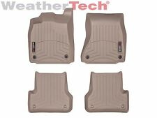 WeatherTech® Floor Mats FloorLiner for Audi RS7 - 2014-2016 - Tan