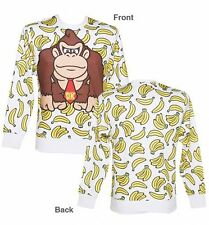 Donkey Kong Banana Sweatshirt Men's Size Small COOL