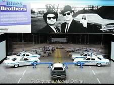 THE BLUES BROTHERS 5 CAR BLUESMOBILE SET LTD EDITION PACKAGED ISSUE K8967Q~#~