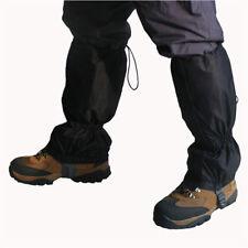 Snowproof Waterproof Leg Gaiters snow ski boot cover legging nylon large 16 long