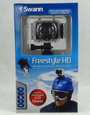 SWANN FreeStyle 1080p HD Sports Action Video Camera SWVID-SPORTL Helmet Cam NEW