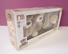 NEW MOTHERCARE My First Gift Set teddy bear Loved So Much soft toy comforter