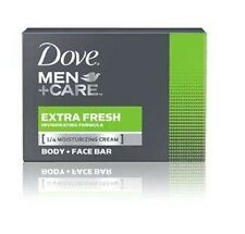 Dove Men + Care Extra Fresh Body + Face Bar Dove Soap 90 gr Moisturizing Cream