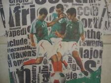World Cup Football Soccer Championship Viva Mexico All Over Print Soft T Shirt L