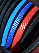 3D Carbon Fiber BMW Kidney Grill Stripes Decals Sticker M3 M5 M6 E46 E39 E60 E90