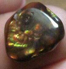 MEXICAN Fire Agate ALL Natural  GEM Multicolored tumbled free form 13x11