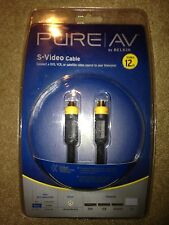10 Pure AV By Belkin S Video Cable 12 ft S-Video High Performance (yes 10 pc.)