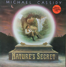 "Vinyle 33T Michael Cassidy  ""Nature's secret"" - promotional cpoy"