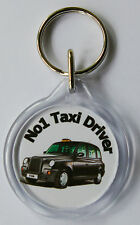 No1 Taxi Driver Keyring Brand New Top Quality