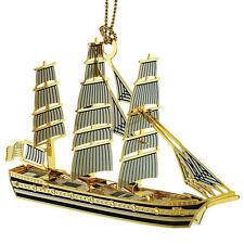 Baldwin Brass/Chemart Christmas Ornament - 3-D TALL SHIP - #55956