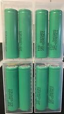 "Brand New ""8"" Samsung ICR18650 3.7V  2200mAh 22F Rechargeable Battery 18650 case"