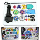 Kid's Toy Beyblade Metal Fusion Master Top Fight Battle String Launcher 4D Set