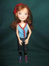 "2011 Tonner Toys LittleMissMatched ROCK N ROLL GIRL 15"" Jointed RED HEAD Doll"