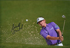 Brandt SNEDEKER SIGNED AUTOGRAPH Golf Photo AFTAL COA Masters Augusta Georgia