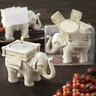 LUCKY ELEPHANT TEA LIGHT CANDLE HOLDER CANDLESTICK WEDDING FAVOR DECOR STYLISH