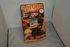 KAMCO BATTERY POWERED SATURN 13'' GIANT WALKING ROBOT VINTAGE ORIGINAL KAMCO