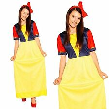 Snow White Disney Princess Fairytale Halloween Hen Do Womens Fancy Dress Costume
